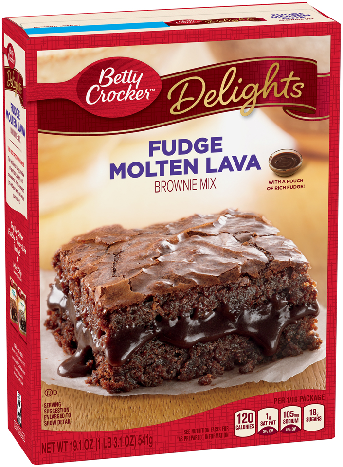 Molten Lava Cake Recipe With Brownie Mix